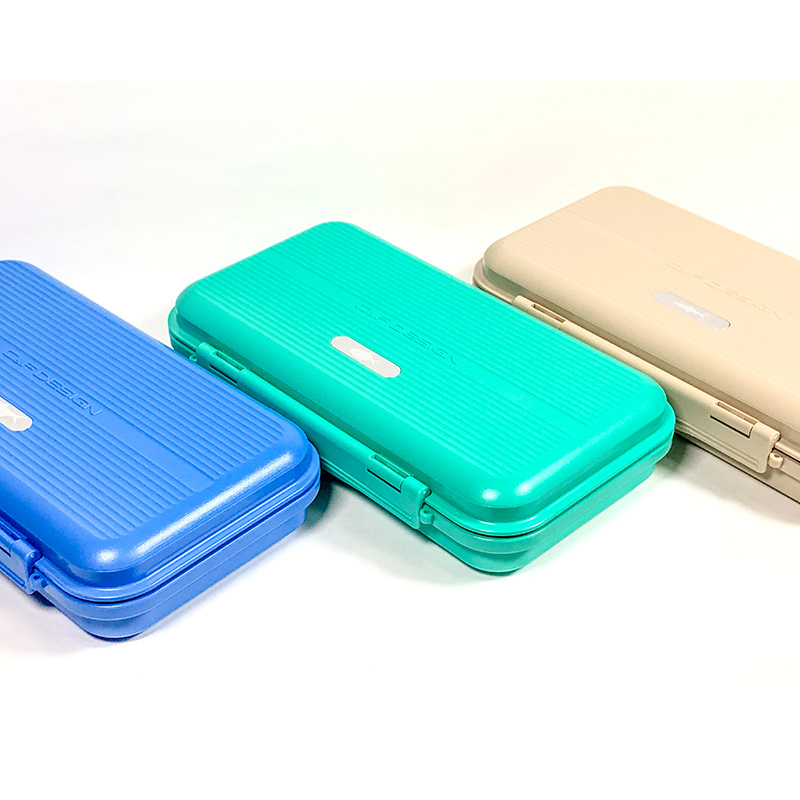 【CFGS-3500】 Tarpon/Large WP Saltwater Fly Case with Slit Foam