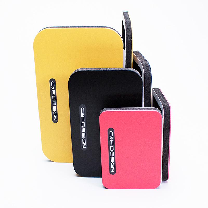 CFLWA-SS/YE Yellow/SS Micro Spoon Palette