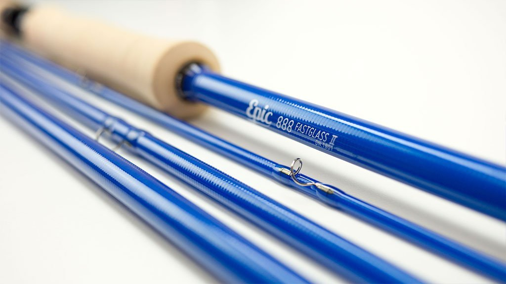 888 FastGlass Fly Rod